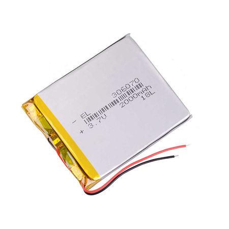 Bateria Akumulator 2000mAh 3.7V (1)