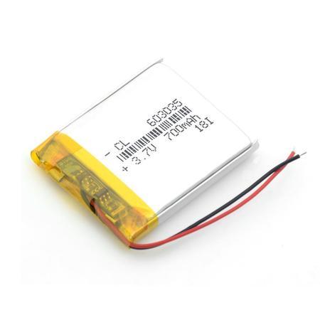 Bateria Akumulator 700mAh 3.7V 6mm (1)