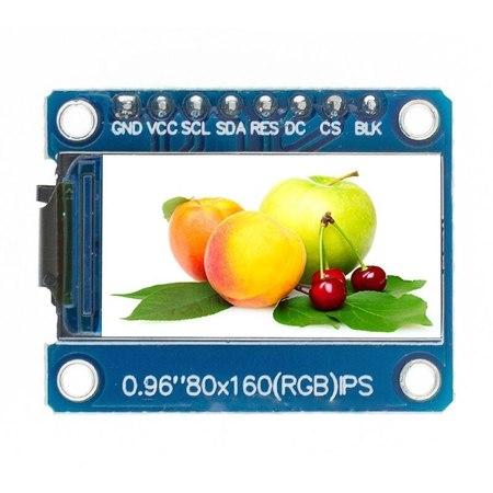 Wyświetlacz LCD IPS 0,96
