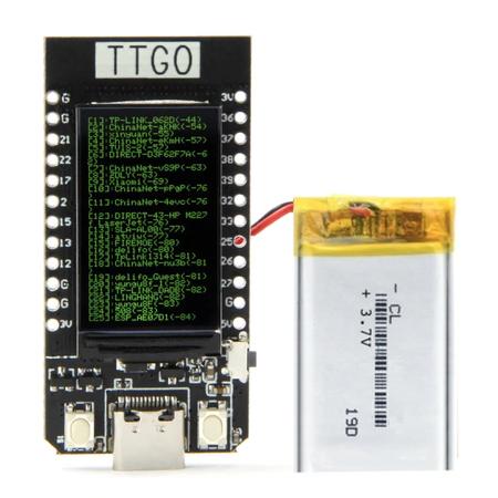 TTGO T-DISPLAY ESP32 z LCD + AKKU (1)
