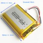 Bateria Akumulator 1500mAh 3.7V JST 3 line (3)