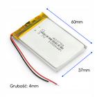 Bateria Akumulator 1000mAh 3.7V (4mm) (2)