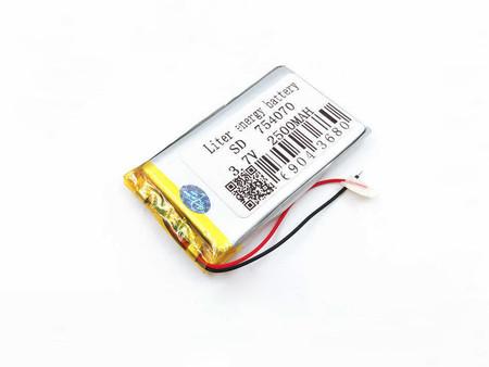 Bateria Akumulator 2500mAh 3.7V (8mm) (1)