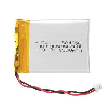 Bateria Akumulator GPS 1500mAh 3.7V wtyk JST 1.25 (1)