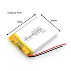 Bateria Akumulator 800mAh 3.7V 5mm (2)