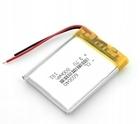 Bateria Akumulator 800mAh 3.7V 6mm (2)