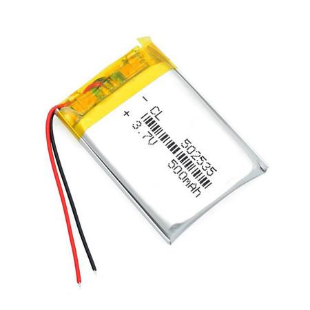 Bateria Akumulator 500mAh 3.7V (1)